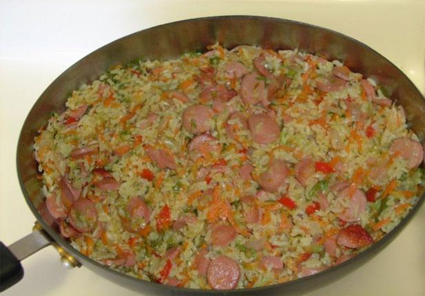 рис с поджаркой