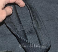 как подшить брюки на вырост